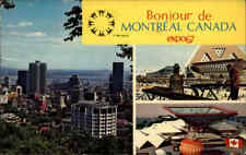 CANADA Kanada Montreal Quebec 1967 EXPO color AK mit Nachgebühr-Stempel gelaufen