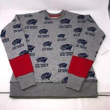 NHL Jersey Columbus Blue Jackets Sweatshirt Wrap Around Print Youth Medium