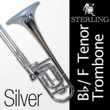 Silver-Plated Trombones