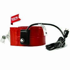 55 gallon Heavy Duty 4″ wide metal drum heater with 50-160F thermostat – Dhls15