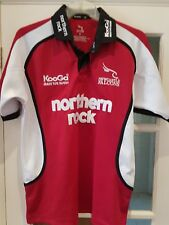 2004-2005 Newcastle Falcons Away Rugby Union Shirt adult Small