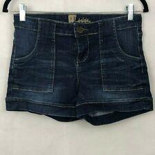Kut From The Kloth Denim Jean Shorts 4 Cuffed Cotton Stretch