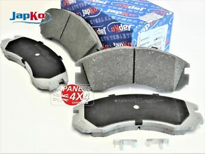 fits MITSUBISHI DELICA 2.8TD 1994-2006  Front Brake Disc Pads - Premium Quality