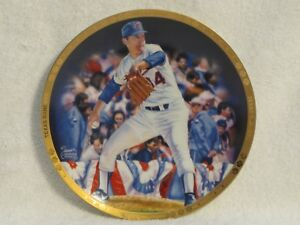 "Sports Impressions Collector Plate ""Nolan Ryan"" Still Going Strong 1993"