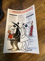 "Ben Frost ""Spy vs Spy"" Rare Ballot Mini Print Postcard 2020 TNT Rare Art New"