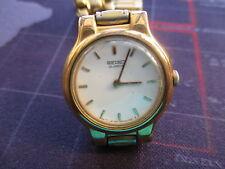 vintage ladies seiko quartz watch,, spares repairs u fix