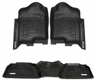 COMBO Front & 2nd Row Sure-Fit Floor Mats 2012-2015 Toyota Tacoma Double Cab
