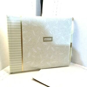 NEW Hallmark Wedding Guest sign-in Album with pen