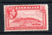 Gibraltar KGVI 1938-51 1 1/2d carmine Perf 14 mint LHM #123 WS12597