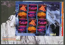UNITED NATIONS LOT OF FOUR 2002 INT'L YEAR OF THE MONTAIN FIRST DAY COVERS