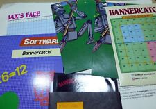 Commodore 64/128: BANNERCATCH - C64 disk, box, manual +MORE+ TESTED
