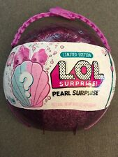 New Limited Edition LOL SURPRISE! PEARL SURPRISE Pink/PurpleMermaid Series Ball!