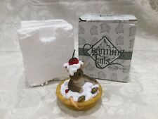 New in box Charming Tails Your A Sweetie Pie Mouse Cherry Fitz & Floyd 84/119