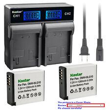 Kastar Battery LCD Rapid Charger for DMW-BLG10 BLG10PP Panasonic Lumix DMC-GX85