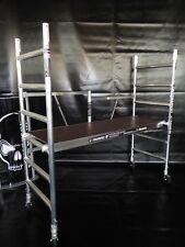KiezGerüst AS 300 - 6 Klapp Fahrgerüst Rollrüstung  Zimmergerüst Ah.3,00m