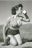 WW II  Usa  Photo --       Pin  Up  Girl   -