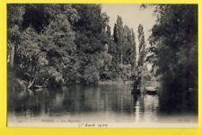 cpa FRANCE 78 - POISSY (Yvelines) Les BIGOCHETS Barques Pêcheurs