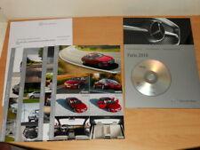 MERCEDES BENZ dossier de presse media press kit Paris 2010 - CLS S250 coupé CL