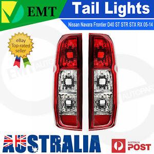 2X Tail Lights Rear Lamp For Nissan Navara Frontier D40 2005-2014 ST STR STX RX