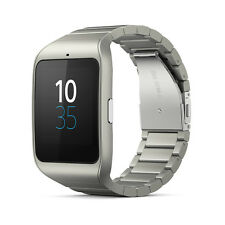 Sony SWR50 Metal silver Smart Watch Bluetooth SmartWatch 3 Stainless Steel