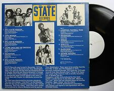 State Records Promo LP 1977 Testpress Rare 70s Soul Glam Pop