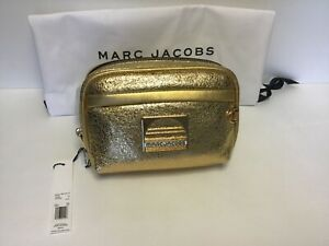 Marc Jacobs Metallic Gold Leather Belt Bag/Fanny Pack - NWT