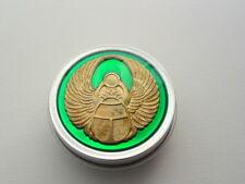 Translucent Green Scarab Nug Jar Purse Pill Weed Tin