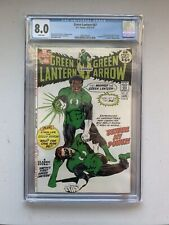 Green Lantern / Green Arrow 87 CGC graded 8.0 : 1st appearance John Stewart