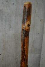 Hickory Hiking Stick, Kiln Dried, Walking Staff, 60 inches tall, Made in the USA