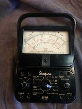 Vintage Simpson 260 Series 6 Analog Volt Ohm Milliammeter