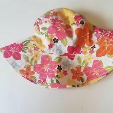 Gymboree New Bucket Style Hat Girls Size 5-7 months. Shipped usps