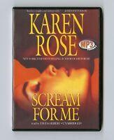 Scream for Me by Karen Rose - MP3CD - Audiobook
