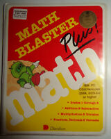 Math blaster plus! - 1987, for IBM PC - Unused