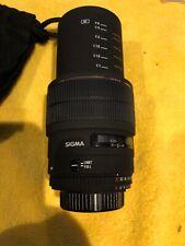 Sigma 105mm EX Macro 1:2.8 D AF 1:1 True Macro Lens for Nikon