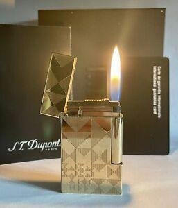 Vintage lighter Dupont Ligne 2 Gold💖Plated💖Super Excellent Rare