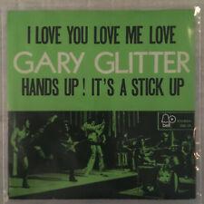 """7"""" Gary Glitter - I Love You Love Me Love (BELL 1973) VG+"""