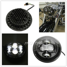 "7"" Projector Daymaker LED HID Light Headlight for Harley Softail Road King Glide"