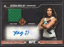2017 Topps UFC Museum Collection Signature Swatches Jessica Aguilar Auto 13/25