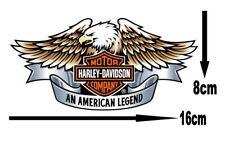 Harley Eagle Edible Icing Logo Cake Decor