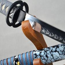 Razor sharp Clay Tempered T10 Katana Special Real Hamon Japanese samurai sword