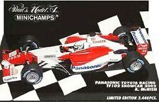 MINICHAMPS TOYOTA F1 diecast model car M SALO & Alan McNISH 2001 & 2002 1:43rd