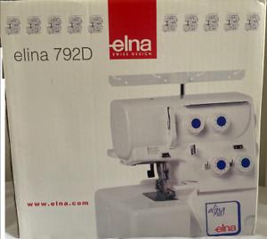 Elna 792D Overlocker White