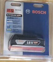 Bosch Lithium-Ion 18V Battery BAT612 2.0 Ah Brand New In Package!
