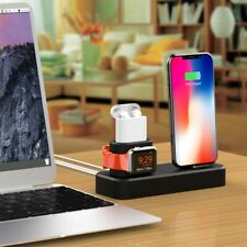 Charging Dock Charger Stand For iPhone Station/Apple Watch Series/AirPods3 in 1