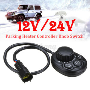 Universal Car Parking Knobs Heater Switch Heating Controller Tank Air Diesel AU