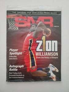NEW Gem Mint SMR PSA Price Guide OCTOBER 2020 ZION WILLIAMSON 🔥