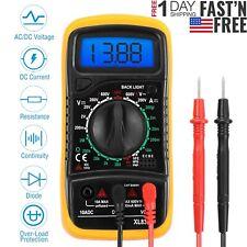 Digital Multimeter Meter Tester AC/DC Voltage Auto Ranging Current OHM Battery