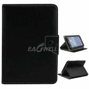 Folding Folio Luxury Leather Tablet Case Cover For Barnes & Noble Nook tablet 7