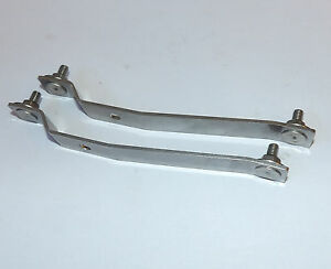 Rover 25 MG ZR Stainless Steel Front Bumper Brackets