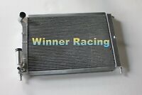 Fit Fiat Coupe FA/175 2.0 l5 20V Turbo 1996-2000 aluminum radiator 2 Rows 40MM
